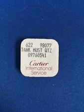 Cartier Tank Must Qtz 18k YG Factory Genuine Crown 09760541