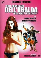 DVD SEXY QUEL GRAN PEZZO DELL'UBALDA TUTTA NUDA E TUTTA CALDA FENECH FRANCO