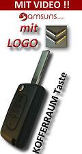 3 Tasten Klapp Auto Schlüssel passen für CITROEN C2 C3 C4 C5 C6 Berlingo Picasso