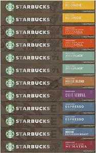 Starbucks Nespresso Aluminium Coffee Capsules Pods - Choose From 8 Flavours