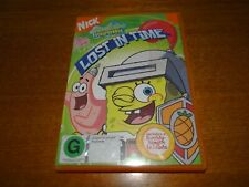 SPONGEBOB SQUAREPANTS LOST IN TIME DVD *BARGAIN*