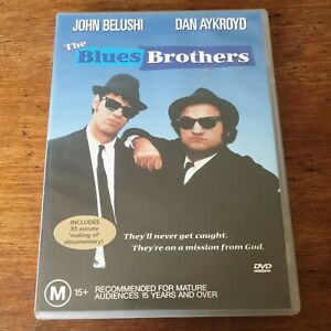 The Blues Brothers DVD R4 Like New! FREE POST