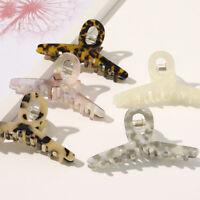 Geometric Acetate Cross Hairpins Acrylic Hair Clip Large Hair Claws Crab Clamp