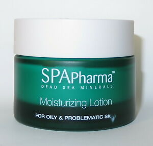 SPApharma 50ml 1.76 Oz Moisturizing Lotion For Oily Skin Dead Sea Minerals