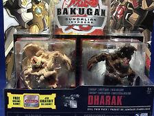 NEW - Bakugan EVIL TWIN PACK - Error Package - COREDEM in DHARAK 2-Pack Figures