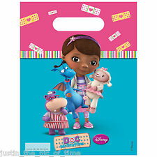 DOC MCSTUFFINS Girls Kids Children's Birthday Party Gift LOOT BAGS x6