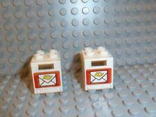 Lego 4176# 4x Cockpit 2x6x2 Transparent hell blau 7785 4559 7945