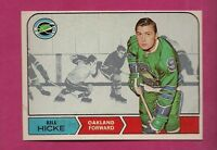 1968-69 OPC # 86 SEALS BILL HICKE EX-MT  CARD  (INV#0503)