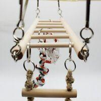 Parrot Climbing Net Hanging Ladder Bridge Cage Chew Decor Bird Toys Pet Supplies