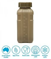 1L DECOR ARMY WATER BOTTLE TACTICAL MILITARY DRINK FLASK ** MADE IN AUSTRALIA **