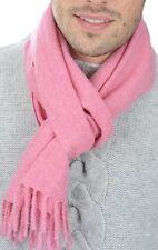 Balldiri 100% Cashmere Sciarpa 170 x 25 cm 4-fädig Tessuti Rosa