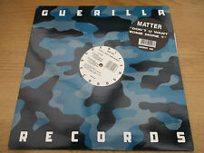 "MATTER - ''DON'T U WANT SOME MORE'' Vinyl 12"" UK 1993 Prog House GUERILLA GRRR48"