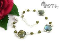 Labradorite Sterling Silver Fine Bracelets