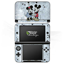 Nintendo 3 DS XL Folie Aufkleber Skin - Mickey&Minnie In Love