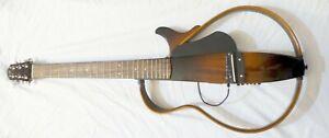 Yamaha SLG200S TBS Silent Electric Guitar + Roland GK-3