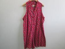 """CIRCLES & SAND women 80's Vintage Jumpsuit Multi Size 1X 40"""" waist Grade A WB246"""