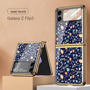For Samsung Galaxy Z Flip 3 Phone Case Creative Folding Screen Protector Cover