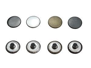 Jeansknöpfe, Rostfrei, nähfrei, 14mm, 17mm, 20mm, MetallKnöpfe,fester Sockel