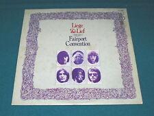 """FAIRPORT CONVENTION """"Liege & Lief"""" 1987 Italy VINYL LP : Island ORL 19115 @ Folk"""