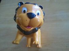 New ListingFree Shipping! Vintage Antique Rubber Lion animal toy jungle Soma Intl Ltd