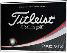 TITLEIST PROV1X 2017 GOLF BALLS 3X12  BRAND NEW IN BOX