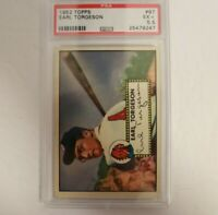 1952 Topps Earl Torgeson #97 PSA 5.5