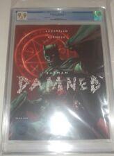BATMAN DAMNED #1 CVR B 9.9 CGC &1 raw copy cvr A