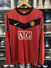 Nike Manchester United Giggs Home Player Issue Jersey / Shirt 2009-10