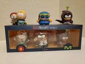 South Park Fractured But Whole Figure Set With Bonus Figures