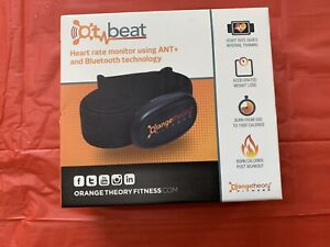Orange Theory Fitness OT Beat ANT+ Bluetooth Chest Heart Rate Monitor NEW