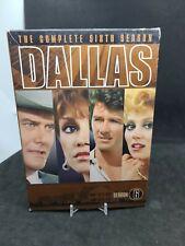 Dallas - Season 6 (DVD, 2007, 5-Disc Set, Dual Side)