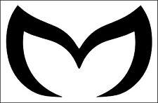 Evil M Solid Emblem Sticker Decal Mazda Protege Miata 3 5 6 RX-7 RX-8 MX-5 Miata