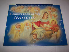 A Child's Book Of The Nativity Richard Osborne 2000 Die Cut Easel Shackman Repro