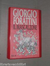 IL MASCALZONE Giorgio Forattini Mondadori Biblioteca Umoristica I ediz 1992 di