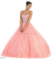 PROM DANCE CINDERELLA DRESS MARINE CORPS BALL SWEET 16 MASQUERADE PAGEANT GOWNS