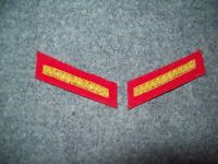 Civil War reenactors Collar Insignia 2nd LT - Artillery