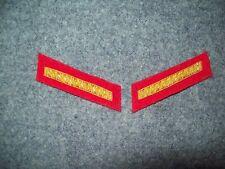 Civil War reenactors Collar Insignia 2nd LT - Artillery