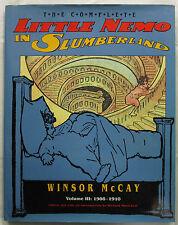 The Complete Little Nemo in Slumberland Vol 3 Winsor McCay 1st Ed HCDJ 1990   VG