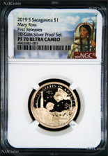 2019 S Proof Native American Mary Ross NGC PF70 Dollar from 10-coin-silver-set F