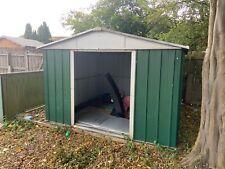 metal storage shed used