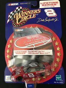 Dale Earnhardt Jr #8, 1st NASCAR Cup Start, 1999 Monte Carlo, Winners1:64 NEW!