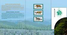 2014. Russia. The Fauna of Russia. Wild Cats. Folder