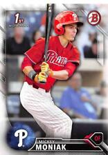 2016 Bowman Draft Baseball Cards Pick From List (Includes First Bowman Cards)