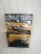 Deagostini Combat Tanks Collection Magazine & Model Issue No 26 Sealed New