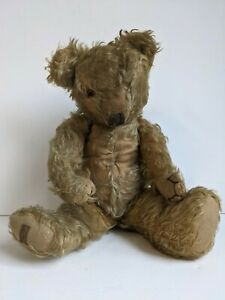 Antique genuine Merrythought traditional teddy bear BR