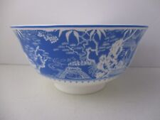 "ROYAL CROWN DERBY MIKADO BLUE NOODLE BOWL 6 1/4"" X 3"" -0904A"