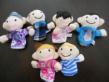 My Family Story Time Plush Finger Puppets