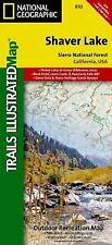 National Geographic Trails Illustrated CA Shaver Lake/Sierra National Map 810