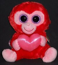 """TY BEANIE BOOS BOO'S - CHARMING the 9"""" MONKEY (MEDIUM) - MINT with TAG - SEE PIC"""