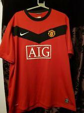 Manchester United 2009-10 Home Football Shirt Ryan Giggs 11 Mens XXL